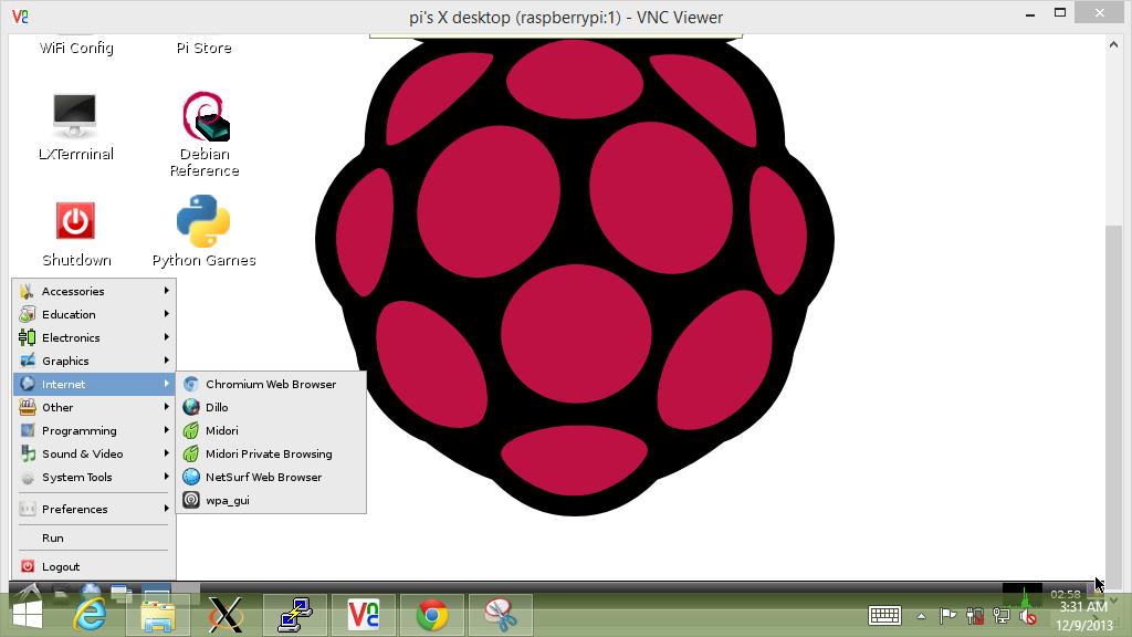 Raspberry pi chromium download