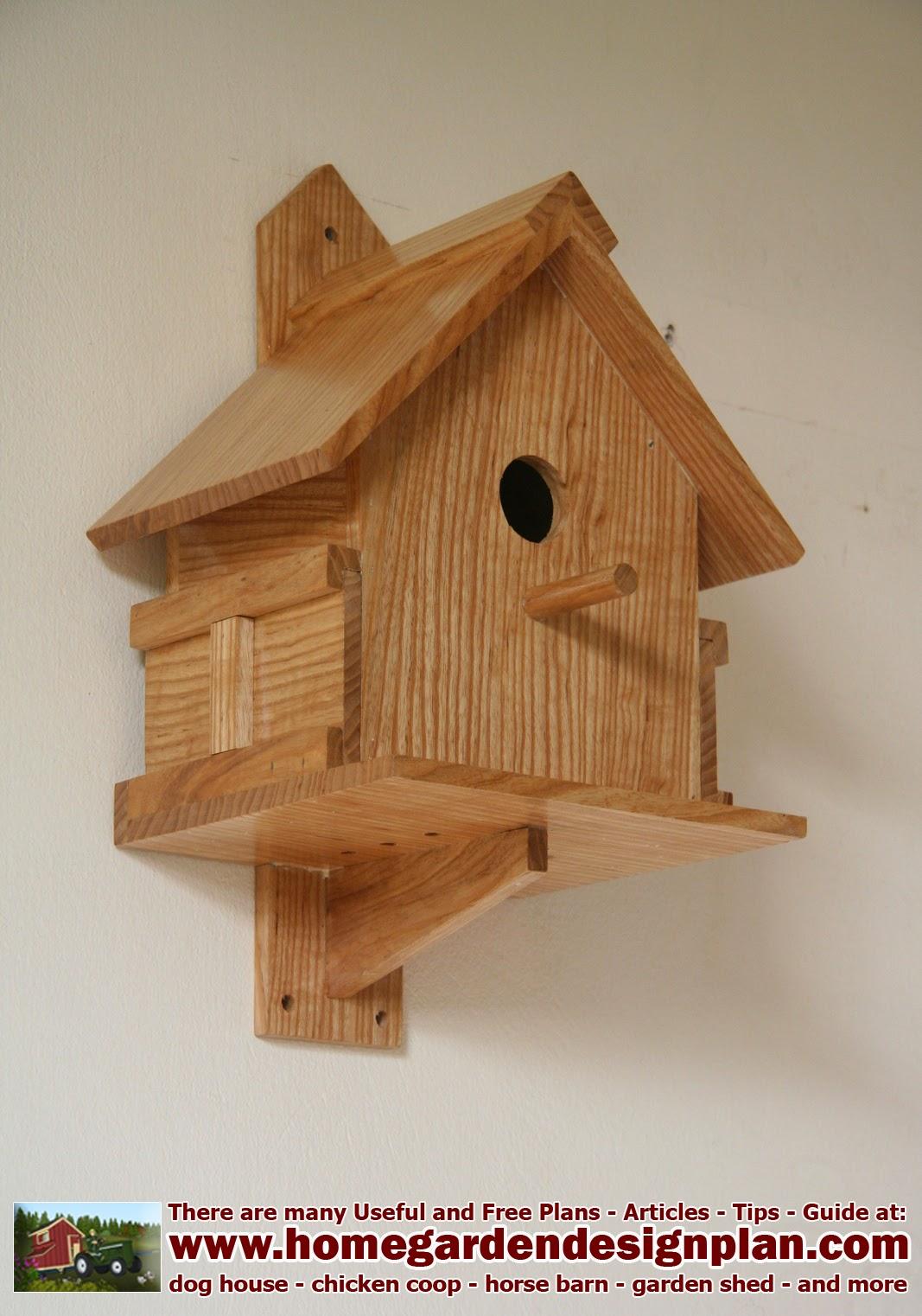 Home Garden Plans Bird Houses