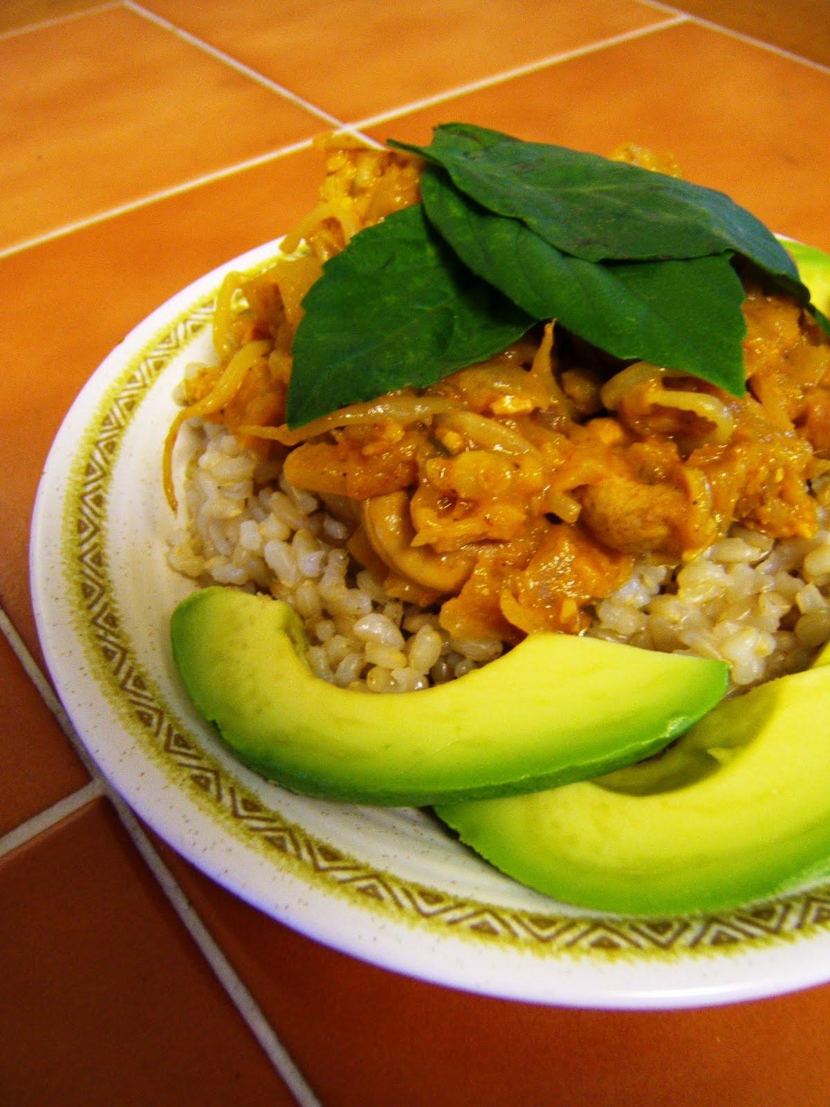 Julia's (Vegan) Kitchen: Panang Curry