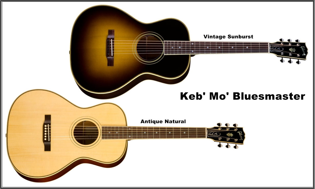 Guitars Blog Gibson Keb Mo Bluesmaster Wiring Diagram For Burstbucker Pro