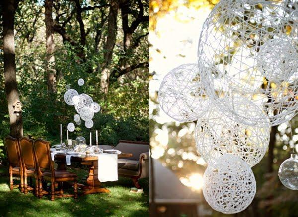 billig dekoration bröllop