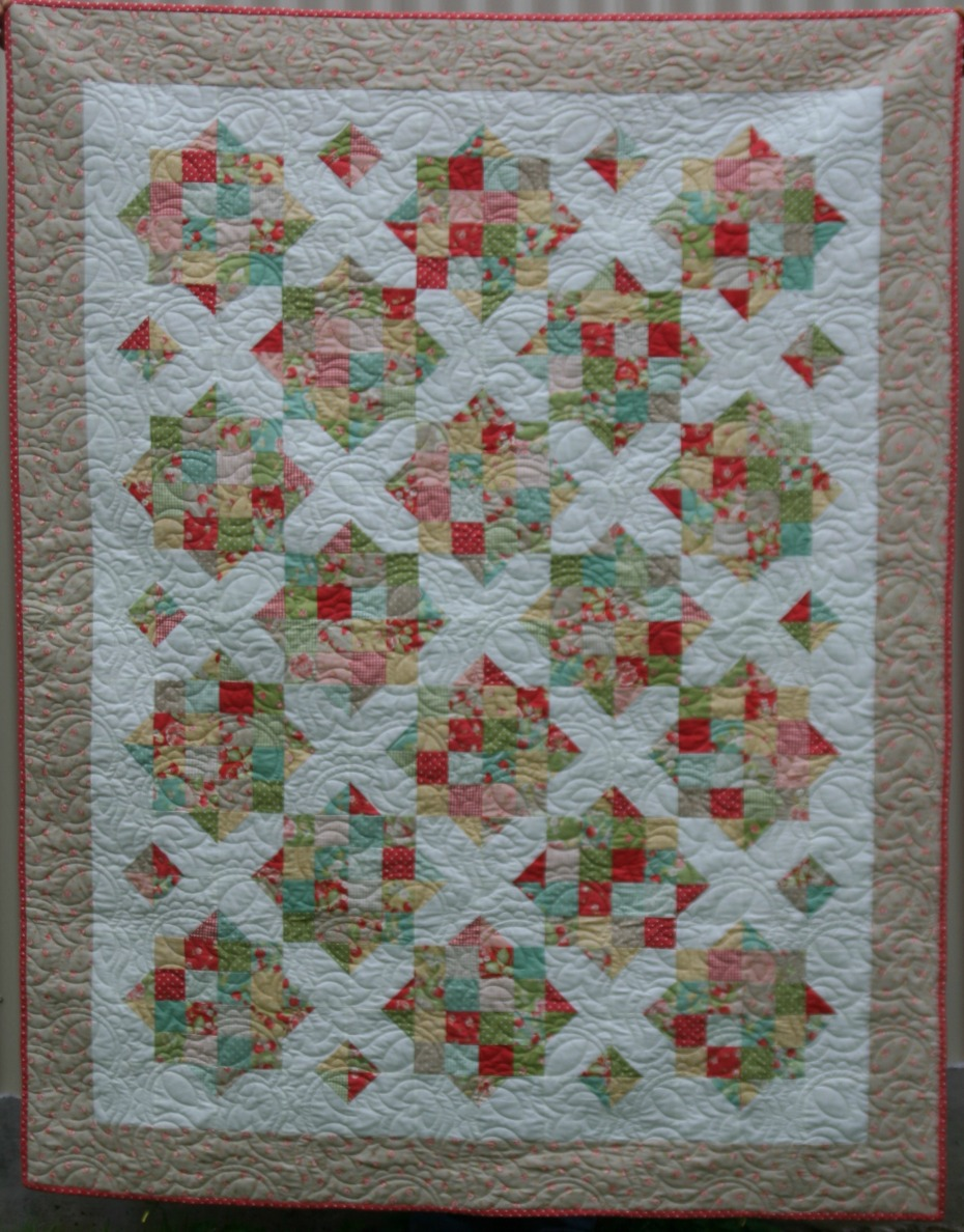 England Street Quilts Briar Rose A Finish And A Free Jelly Roll
