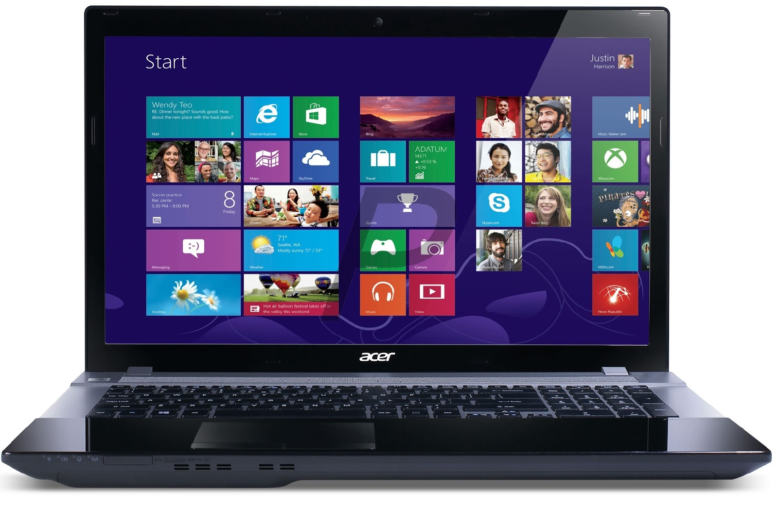 Harga Laptop Acer Aspire V3 772G 747A321 Terbaru 2013
