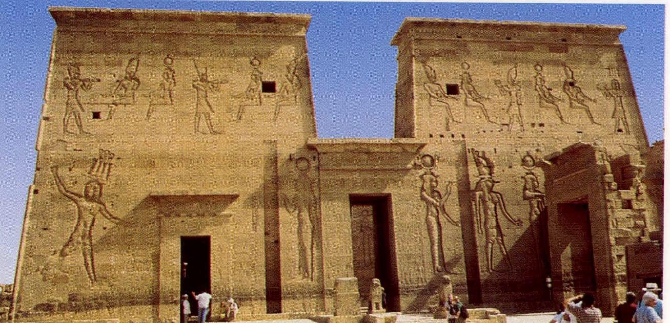 Historia de la arq arquitectura egipcia for Arquitectura de egipto