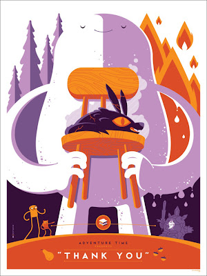 Mondo - Adventure Time Screen Print by Tom Whalen