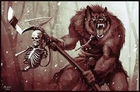 War wolves destroy the enemy
