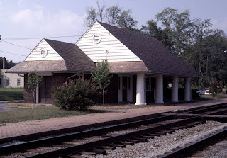 Ashland's railroad station