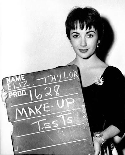 31 estrelas vintage em testes de cabelo e maquiagem - Parte I