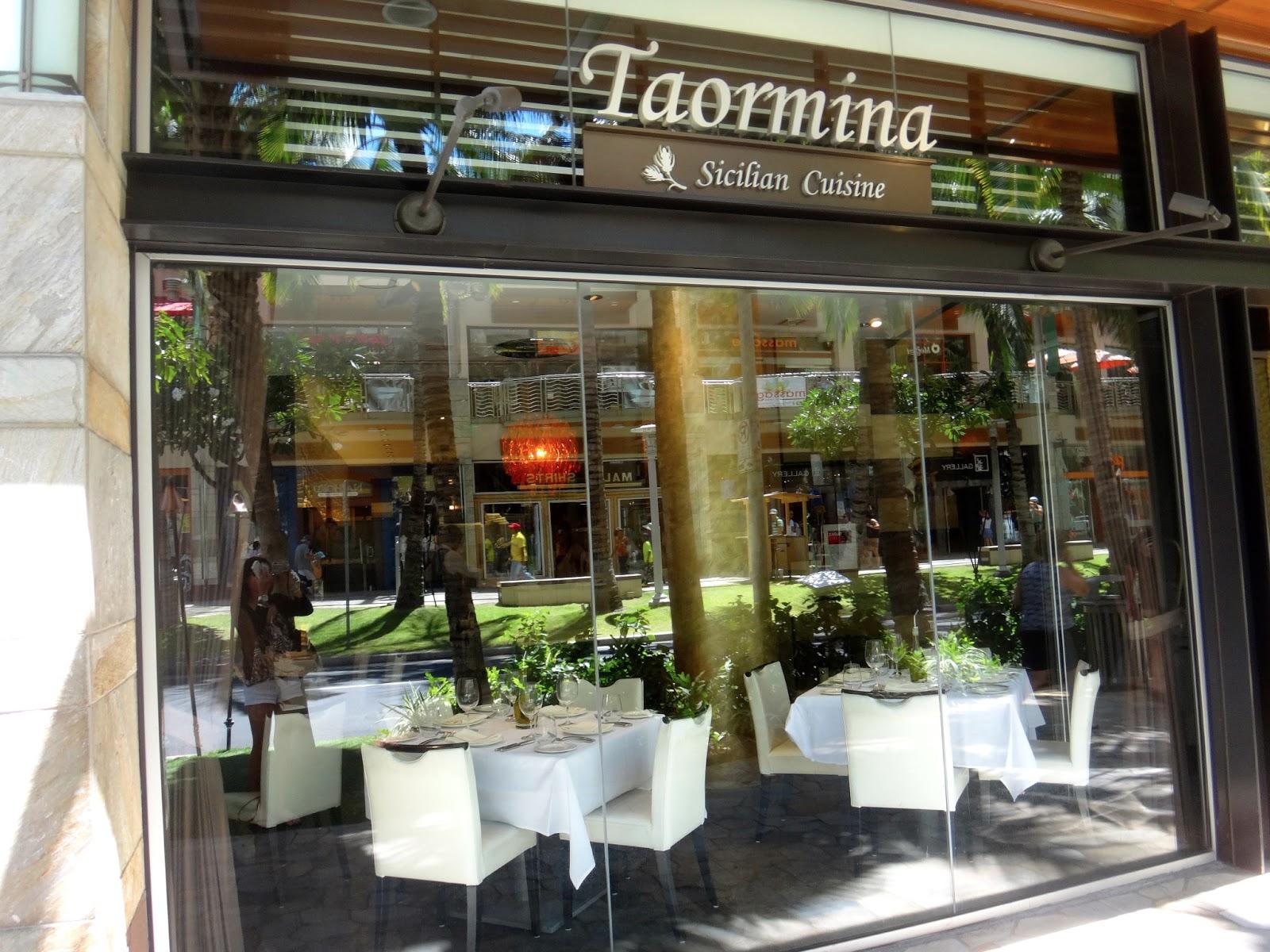 The FashionablyForward Foodie Taormina Sicilian Cuisine - Taormina waikiki