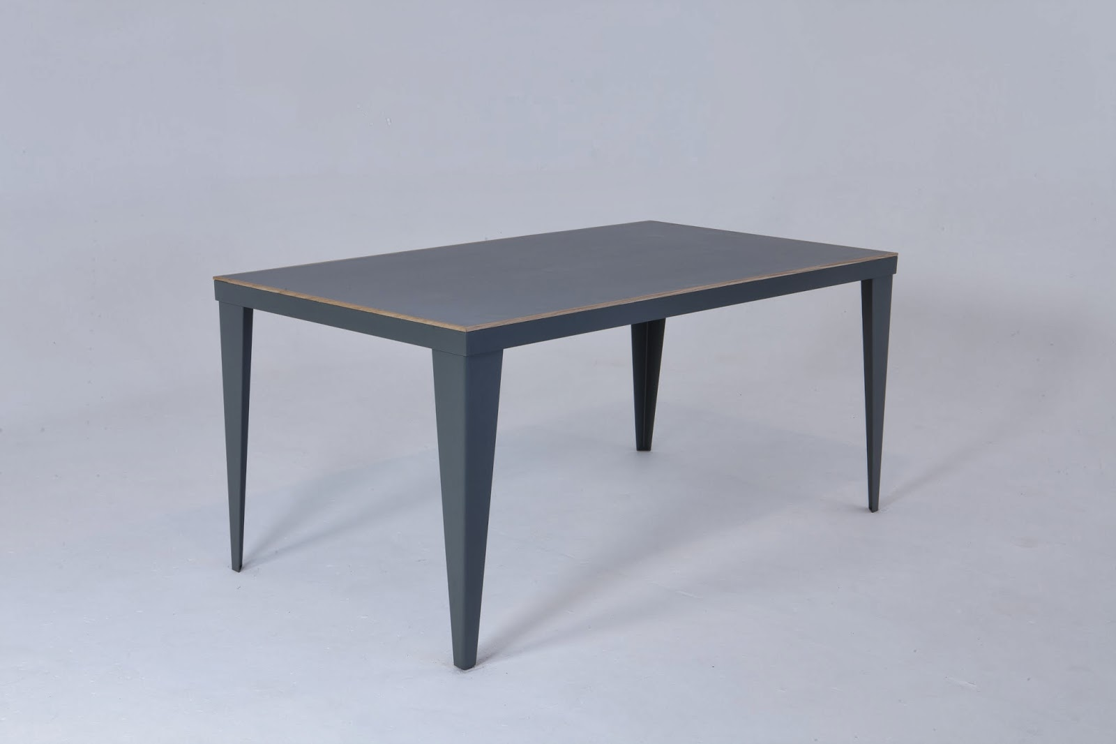 Pigeon Vintage: Industrial Dining Table. Full resolution  img, nominally Width 1600 Height 1066 pixels, img with #333845.