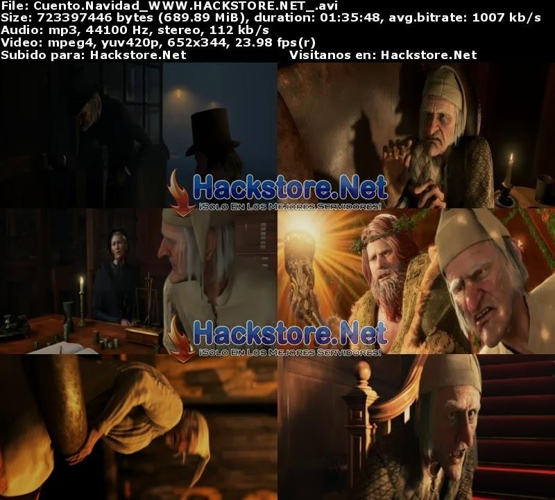 Captura Cuento de Navidad (2009) DVDRip Latino