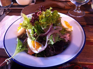 Stitch and Bear - Nicoise salad at Pay As You Pay Killarney