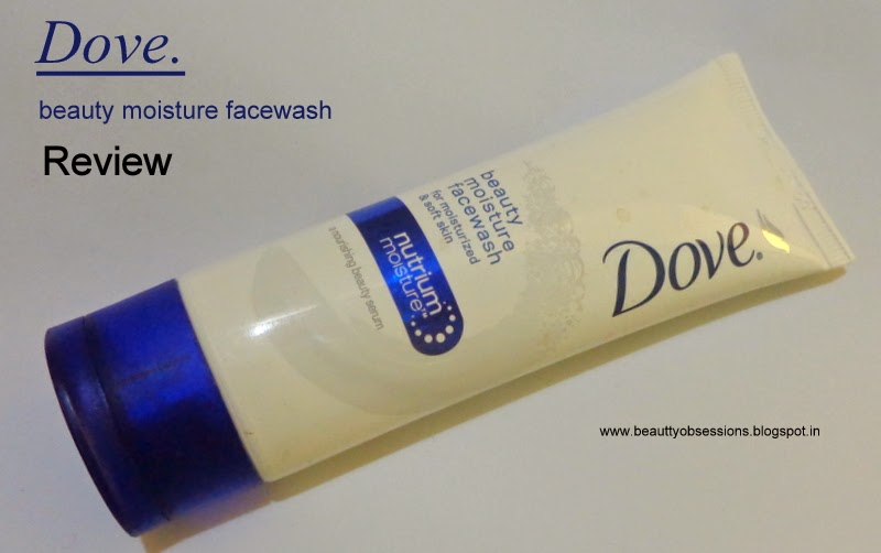 Review - Dove Beauty moisture facewash