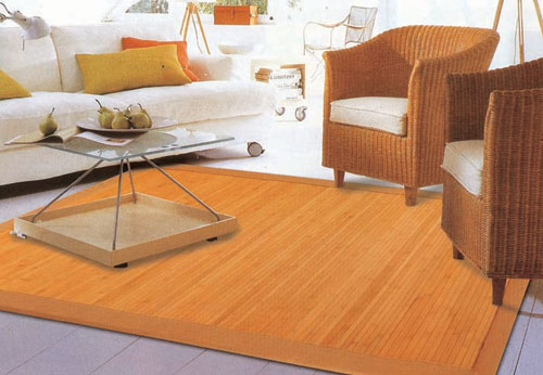 Bamboo Area Rugs And Mats