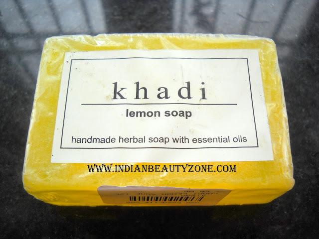 Lemon soaps