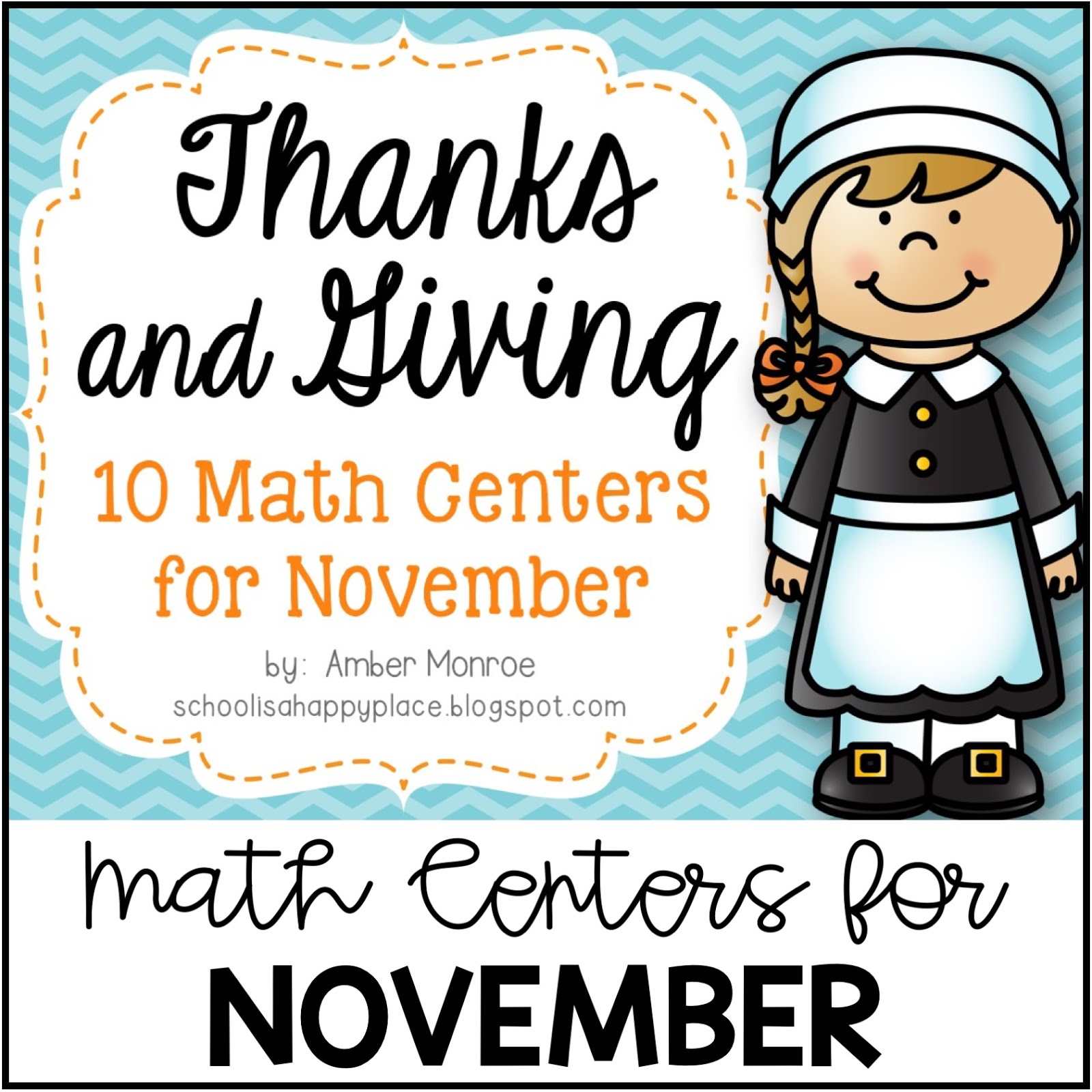 Math Centers for November