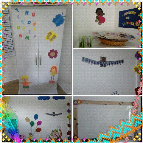 Decoração de Sala Volta Às Aulas Espaço do Educador Ideia Criativa