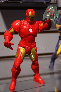Hasbro 2013 Toy Fair Display Pictures - Avengers Assemble - Iron Man figure