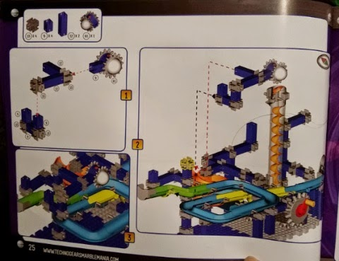 Techno Gears Marble Mania Galaxy 2.0 instruction manual sample page