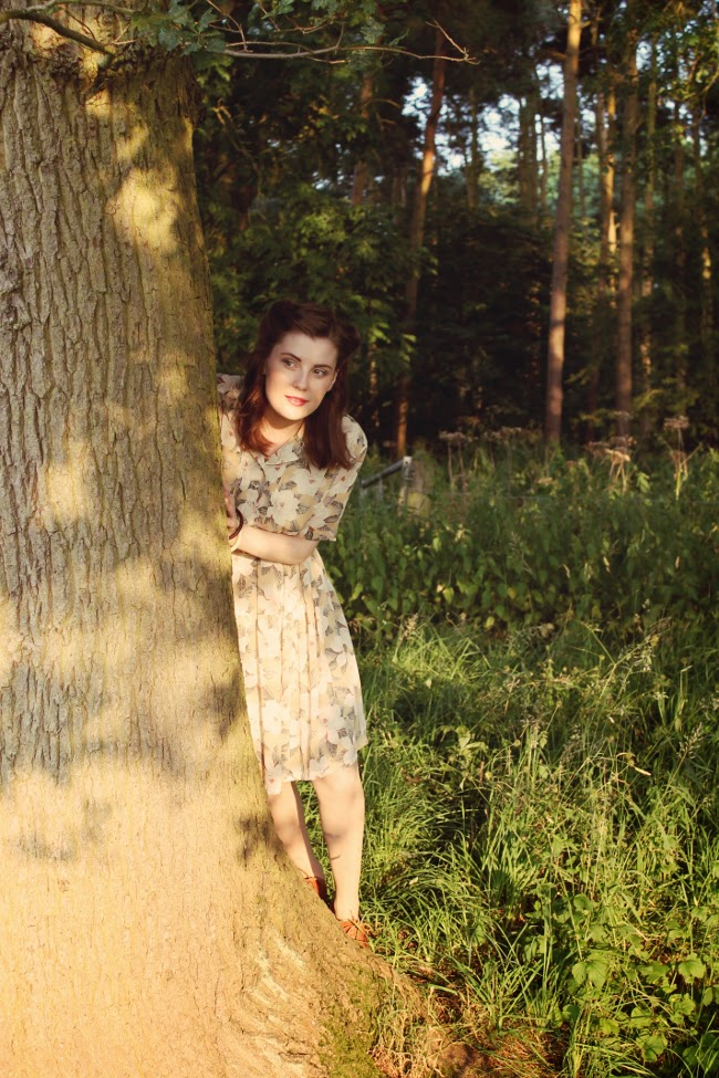 1940s look via lovebirds vintage