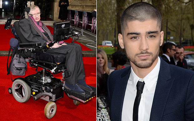 Stephen Hawking: Zayn Malik Masih di One Direction pada 'Alternative Universe'