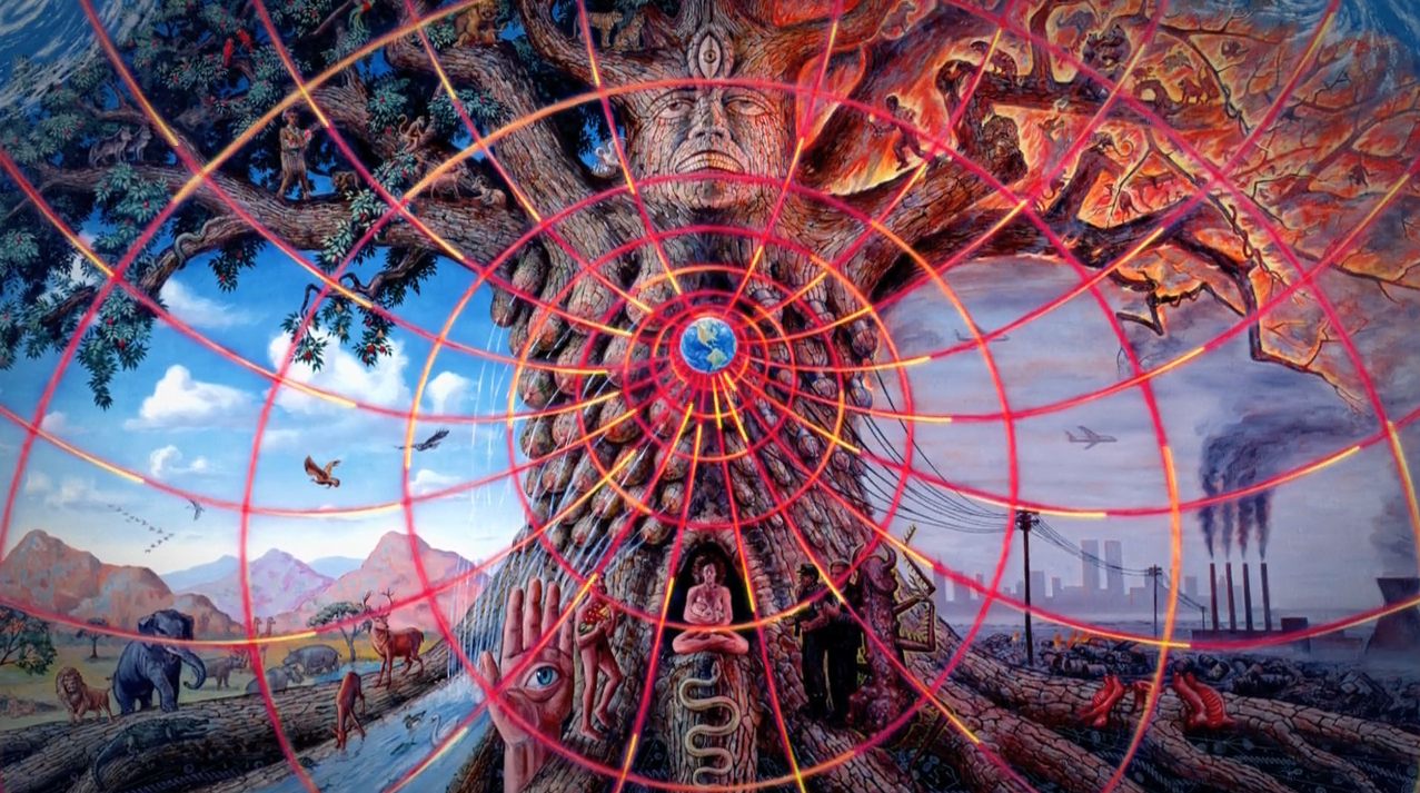 Alex Grey Art Gaia Be  because we each needGaia Alex Grey