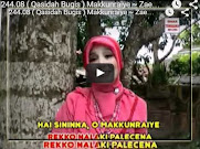 Makkunraiye ~ Zaenab Alwi ( Qasidah Bugis )