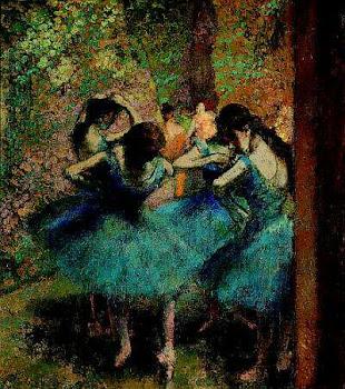 Danceuses bleues