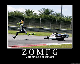 motivational zomfg motorcycle is chasing me, motivational omfg, motivational zomfg, motivational omg, motivational mortorcycle, motivational posters