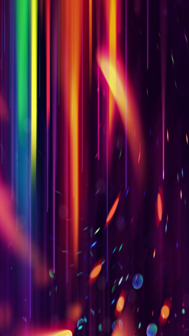 Free Download Colorful Abstract Light HD Wallpapers For IPhone 5