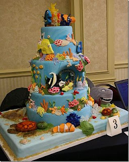 Children parties, Nemo cakes
