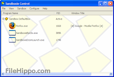 Sandboxie 3.76 Free Download 2013 Full Version