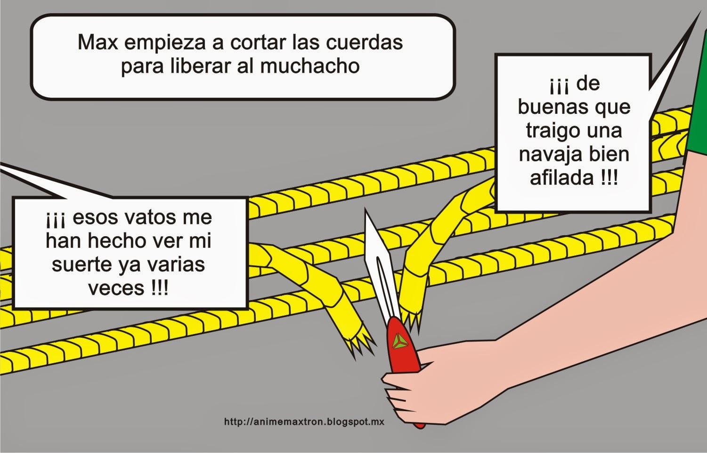 Unidad MÁXTRON historieta cómica 0008 http://animemaxtron.blogspot.mx