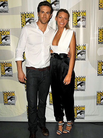 Ryan Reynolds And Blake Lively Blake Lively Hot Photo...