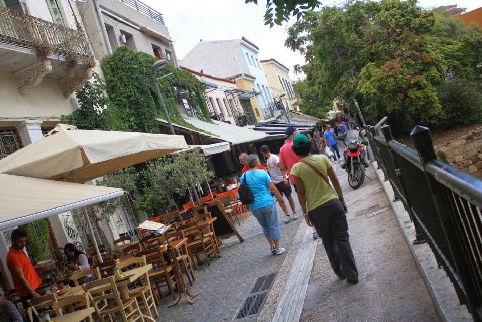 Monastiraki district in Athens