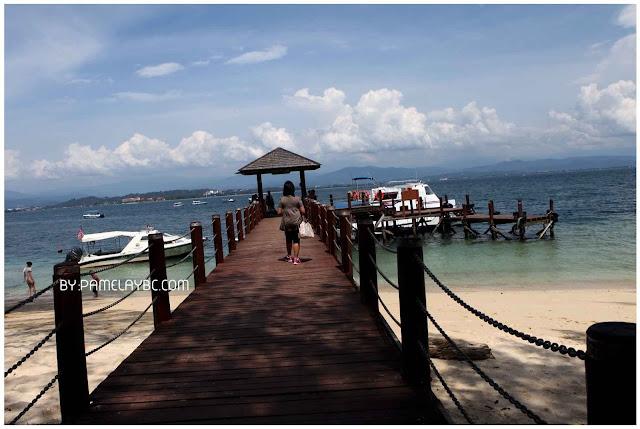 how to go to manukan island from kota kinabalu
