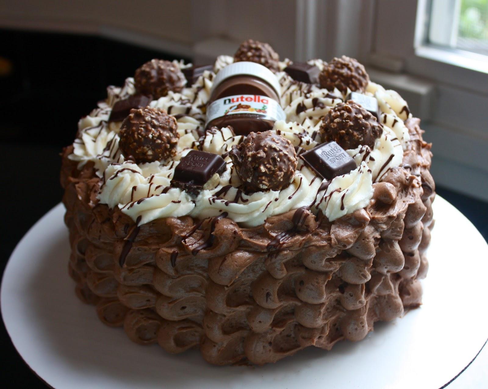 Nutella Lazy Cake