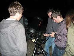 Alinierea telescopului