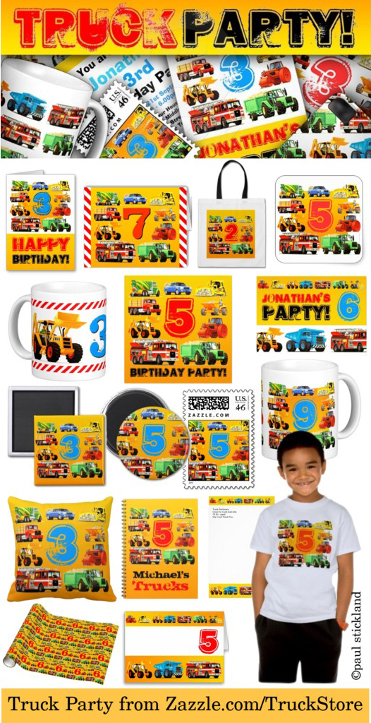 truck birthday party, truck party, trucks for kids, kids truck birthday,