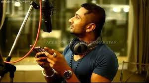 honey singh hair style
