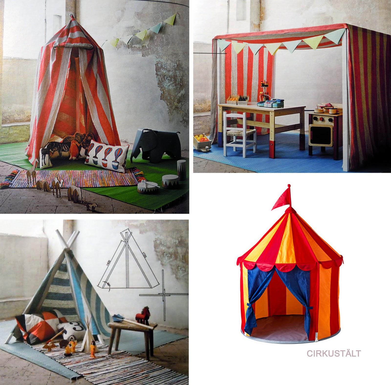 IL PAMPANO kids design: La tenda degli indiani...