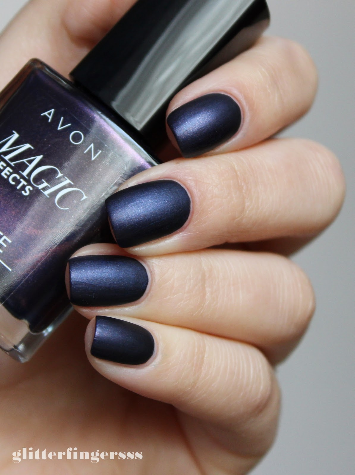 SWATCH | Avon Magic Effects \'Matte\' - Inky Blue ~ Glitterfingersss ...