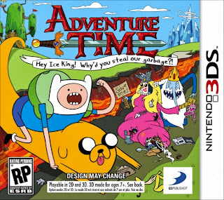 Adventure Time - Hey Ice King! Why'd You Steal Our Garbage? (3DS USA)