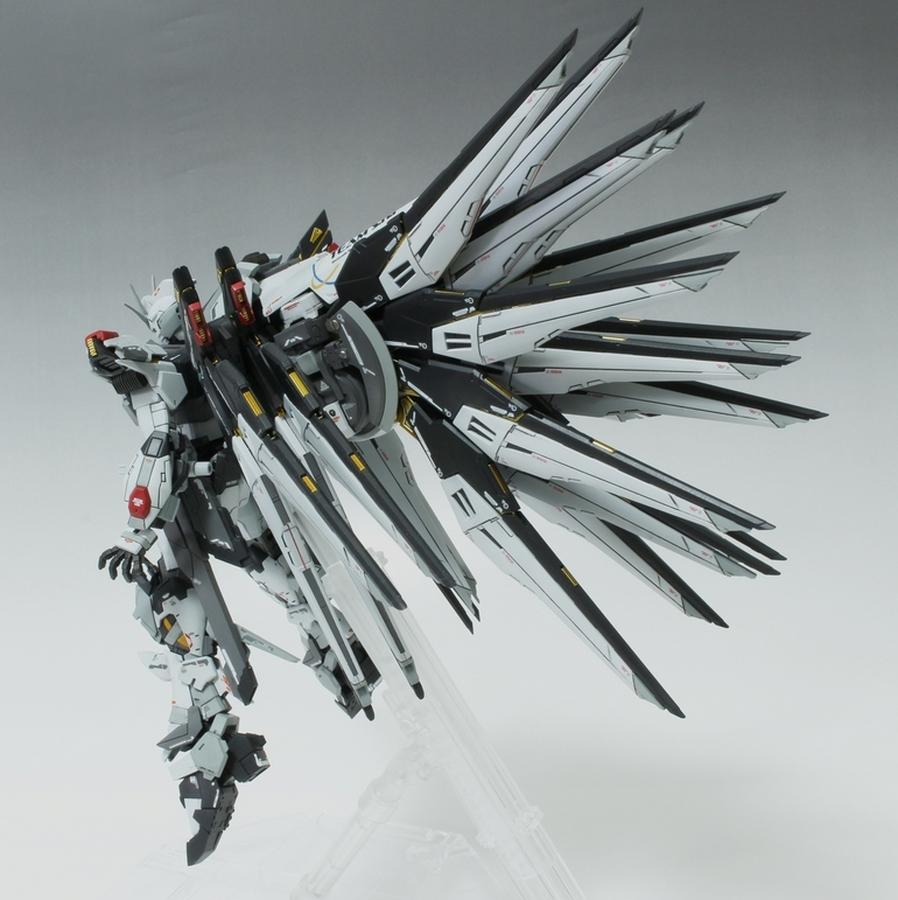 Custom Build: RG 1/144 Strike Freedom Gundam + AEGIS Unit ...