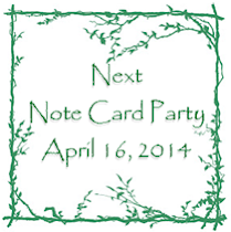 Note Card Party