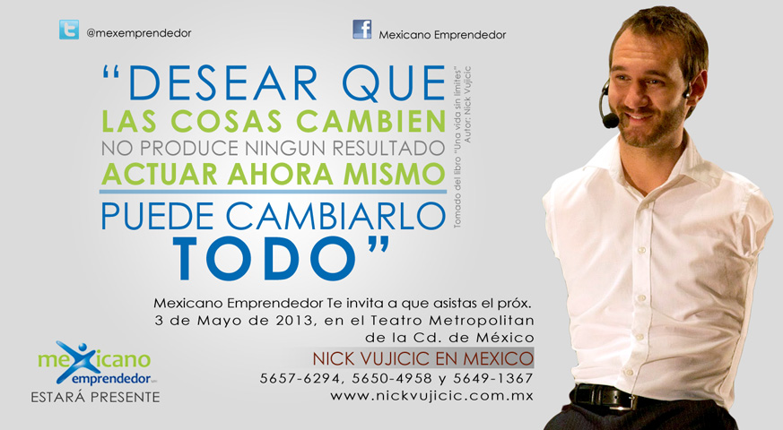 Extremamente Mexicano Emprendedor: Mexicano emprendedor en la Conferencia de  JK61