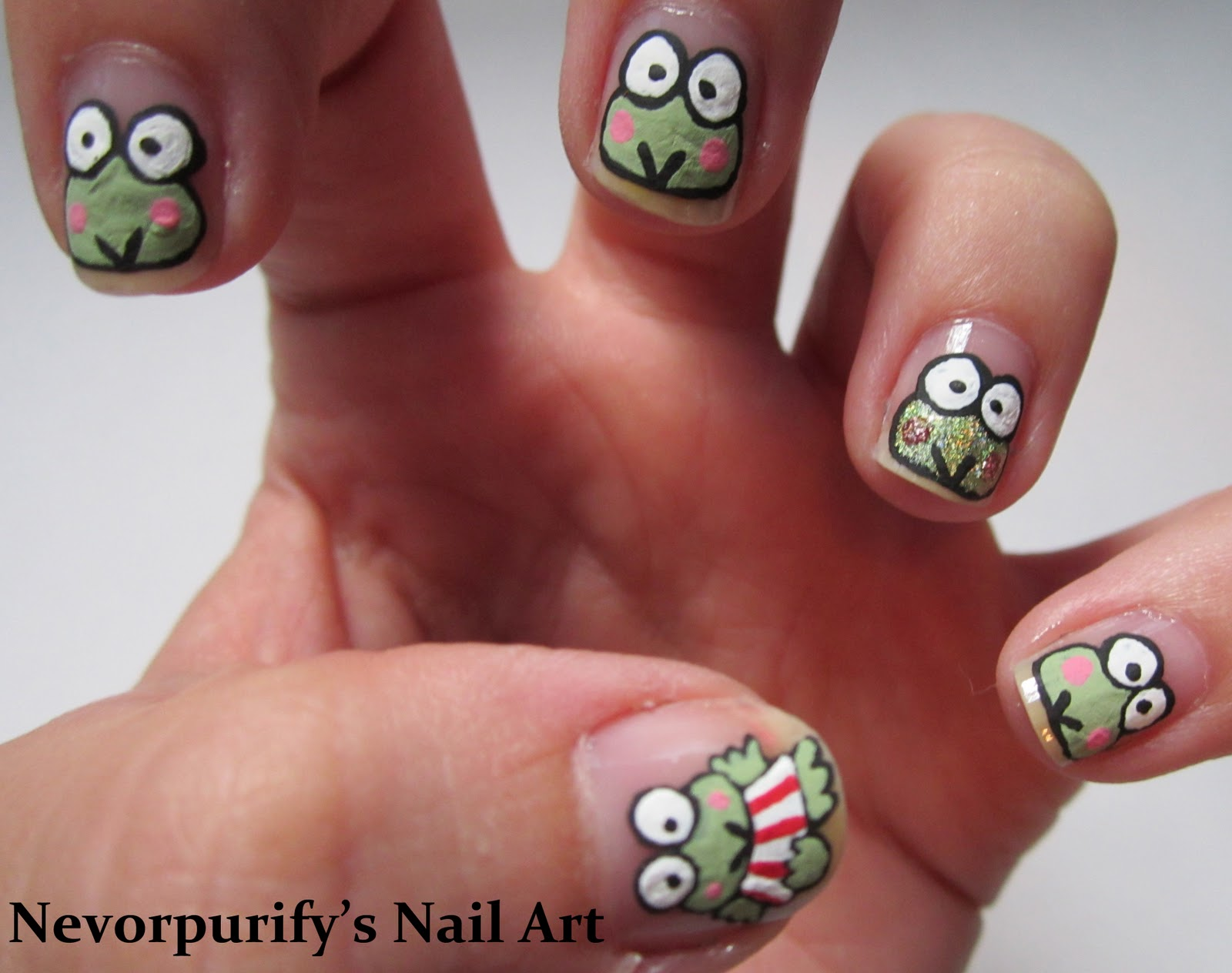 Keroppi | Nevorpurify\'s Nail Art