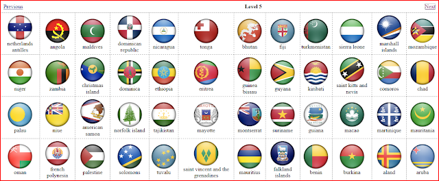 Flag Quiz Level 5