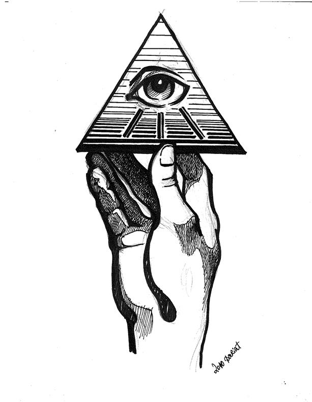 Egyptian All Seeing Eye Art Download