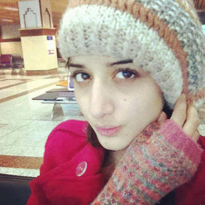 Pakistani Model And Actress Cute Mawra Hocane Latest Photos 2013